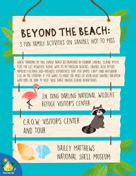 Beyond The Beach Things To Do On Sanibel Island