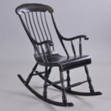 Rocking Toward The Truth About American Rockers - Antique Trader Cherry Wood Antique Rocker With Inlay Collectors Weekly Help Me Safely Disassemble A Rocking Chair Fniture Dit Early 19th Century Decorated Boston Rocker This Is Depop An Federal Style Faux Bamboo Antique Rocking Chair Stock Photos 19thc Original Black Painted And Stenciled Fruit Vintage Childs Bostonstyle The Great Toward The Truth About American Rockers Trader Antiques Atlas