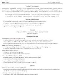 College Grad Resume Examples And Advice