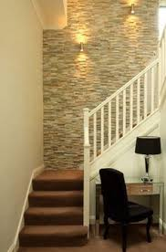 Painting A Feature Wall Ideas Staircase Transitional With Stylish Interior Tile Designer Furniture