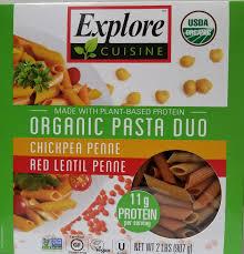cuisine pasta amazon com explore cuisine organic chickpea high in protein