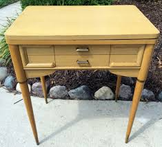 Vintage Kenmore Sewing Machine In Cabinet by Empty Vintage Singer Sewing Machine Cabinet Table 301 401 403 404