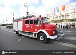 100 Firefighter Trucks Bucharest Romania September 2018 Vintage Parade