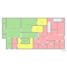 plan cuisine collective plan de cuisine restauration collective plan 21 pièces 289 m2