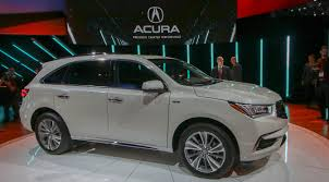 Does Acura Mdx Have Captains Chairs by New York Auto Show 2017 Acura Mdx Makes All The Driver Assists