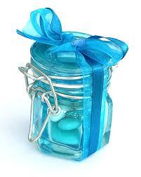 petit pot pour dragees petit pot à confiture turquoise pour dragees et marque place