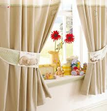 Kitchen Curtain Ideas For Bay Window by Kitchen Design Beige Kitchen Curtain Panel And Bay Window Smart