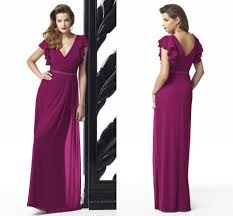 popular claret chiffon dress buy cheap claret chiffon dress lots