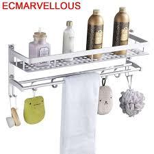 estanteria holder porta shoo mural hair dryer badezimmer etagere banheiro salle de bain shelf shelves bathroom organizer