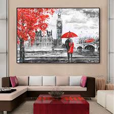 großhandel abstract wall poster gerahmt handgemachte hd öl leinwand malerei gedruckt moderne wohnzimmer schlafzimmer wandbilder romantischem dekor