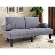 Astonishing Suede Futon Sofa Bed Haag Fantastic Appealing Sleeper