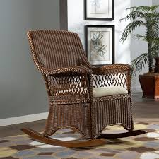 Wicker Rocking Chairs Indoor Steve Silver Dining Chairs