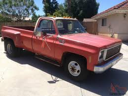 100 1978 Chevy Truck For Sale GMC CHEVROLET 1 TON DUALLY 3500 SIERRA GRANDE CAMPER SPECIAL
