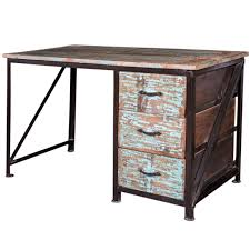 bureau bois recyclé bureau en bois recyclé prabir images et atmosphères