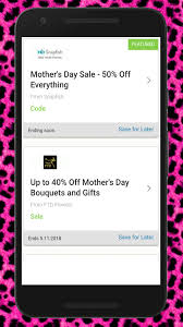 Best Mother's Day Coupons For Android - APK Download Top Sales And Coupons For Mothers Day 2019 Winner Sportsbook Coupon Code Online Coupons Uk Norman Love Papa John Coupon Flower Shoppingcom Bed Bath Beyond Total Spirit Cheerleading Ftd September 2018 Second Hand Car Deals With Free Sears Codes 2016 Kanita Hot Springs Oregon Juno 20 Off Pacsun Promo Codes Deals Groupon Celebrate Mom Discounts Freebies Ftd 50 Discount Off December Company