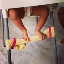 DIY Foot Rest For Ikea Antilop High Chair - Secure The Ends Of A ...