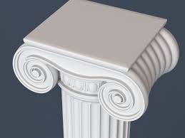 3ds max capital column 3D Modo models Pinterest