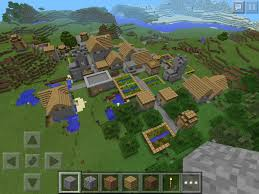 Minecraft Pumpkin Seeds Pe huge villages in minecraft pe 0 9 0 seed in comments minecraft