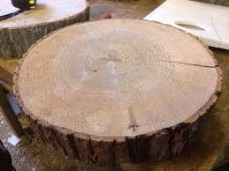 Wedding Cake Stand Ash Wooden Round SlicesRustic Approx 16 Diameter