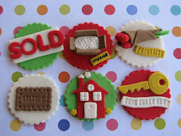 Housewarming Cupcake Toppers By Lynlees Petite Cakes Via Flickr