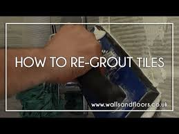 Diy Regrout Tile Floor by How To Regrout Tiles Walls And Floors Help Centre Youtube