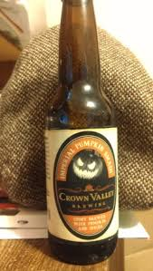 Imperial Pumpkin Ale by Crown Valley Imperial Pumpkin Smash