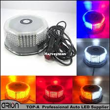 White Red Blue Amber Flash Light 240 LED Roof Car Boat Truck Warning ...