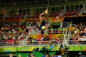 Simone Biles Floor Routine by Simone Biles Elevated So High On Her Floor Routine You Couldn U0027t