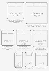 100 Truck Size Chart Bed Sizes Chart Comparison Twin Rachel Delacour Bed Dimensions