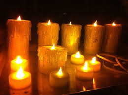 Halloween Flameless Taper Candles by Candles Astounding Halloween Candles Ideas Led Halloween Candles