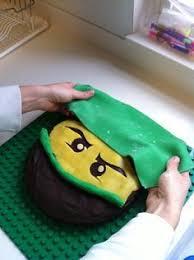 how to make a lego ninjago birthday cake