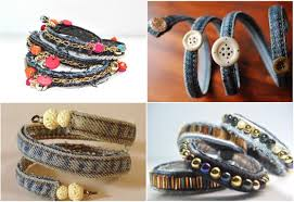 Bracelets You Can Make Chic Accessory From The Side Seam Of Your Jeans