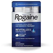 Minoxidil Shedding Phase Pictures by Amazon Com Men U0027s Rogaine Hair Loss U0026 Hair Thinning Treatment