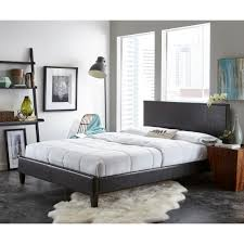 Adjustable Bed Frame For Headboards And Footboards by Black Queen Beds U0026 Headboards Bedroom Furniture The Home Depot