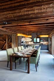 100 Oak Chalet One In Combloux The French Alps Dining Room