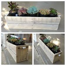 Planters Box Made From Pallet Wood By Yours Truly