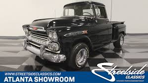 1959 Chevrolet 3100 | Streetside Classics - The Nation's Trusted ... Video This Ls Swapped 59 Apache Is One Badass Restomod 1959 Chevrolet 2014 Truckin Thrdown Competitors Greening Auto Company Jeff Greenings Fileflickr Dvs1mn 31 Pickup 2jpg Retyrd Within Wheels For Chevy Truck Mecum Fl 2016 Apache Pickup Custom 60l Lq9 Hot Rod Network 3100 Pickup Trucks Pinterest Classic Gmc Trucks And What Makes Someone Want To Hold On A For 40