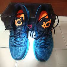 100 Kd Pool Seldom Worn Nike KD 8 US 13 UK 12 Blue LagoonBright CitrusBlackTide Blue