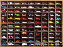 Matchbox Hot Wheels Handmade Display Case 164 108 Cars Walnut Stain