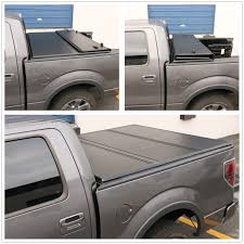 Ford F-150 Supercrew Cab 5.5Ft Short Bed 2004-2014 Hard Tri-Fold ...