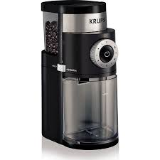 KRUPS Professional Burr Coffee Grinder Black GX500050