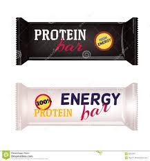 Vector Food Packaging For Protein Bar