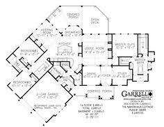 Harmonious Mountain Style House Plans by Harmony Mountain Cottage House Plan 06110 Floor Plan Craftsman