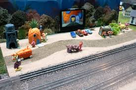 Spongebob Fish Tank Ornaments by Hobbies Lionel Trains