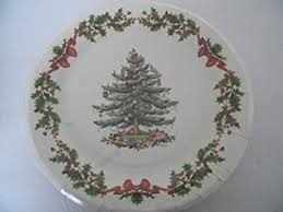 Spode Christmas Tree Dinner Paper Plates 16 Count By Gibson