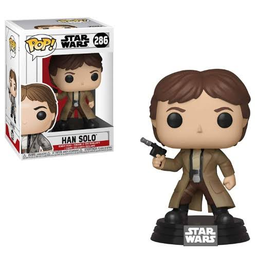 Funko Pop Star Wars Vinyl Figure - Han Solo, 10cm