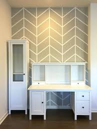Wall Designs With Paint Herringbone Pattern Accent And Painters Tape Creative Painting