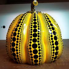 Yayoi Kusama Pumpkin Sculpture by Great Gigantic Pumpkin By Yayoi Kusama Art Pinterest