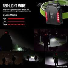 le le frontale led rechargeable par usb 10w led 1150lm 3 modes