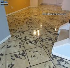 decorative concrete contractor columbus ohio epoxy flooring